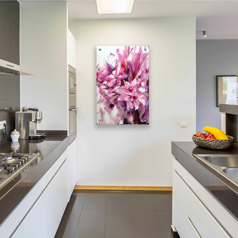Image of Epic Art 'Lily' by Alexander Gunin, Acrylic Glass Wall Art,24x36