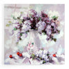 Epic Art 'Lilacs' by Alexander Gunin, Acrylic Glass Wall Art