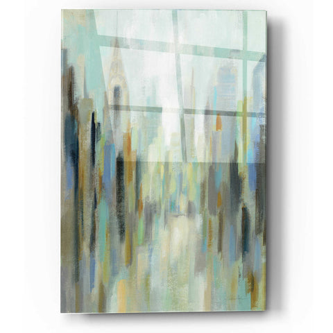Image of Epic Art 'New York Morning I' by Silvia Vassileva, Acrylic Glass Wall Art