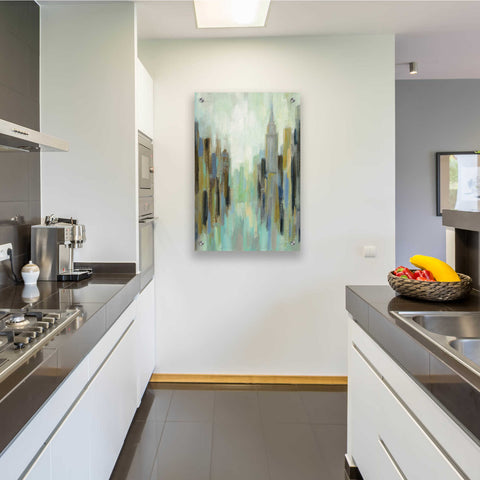 Image of Epic Art 'New York Morning II' by Silvia Vassileva, Acrylic Glass Wall Art,24x36