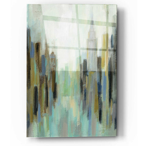 Image of Epic Art 'New York Morning II' by Silvia Vassileva, Acrylic Glass Wall Art