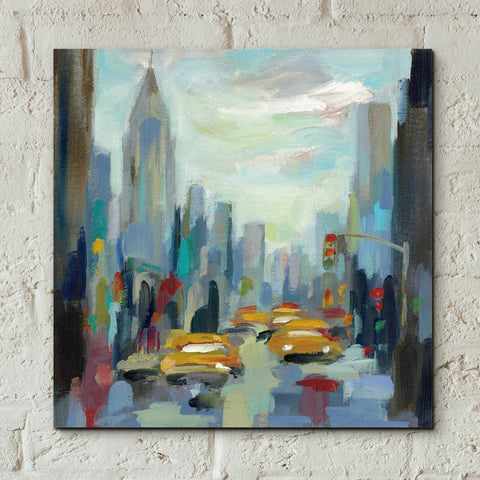 Epic Art 'Manhattan Sketches I' by Silvia Vassileva, Acrylic Glass Wall Art,12x12