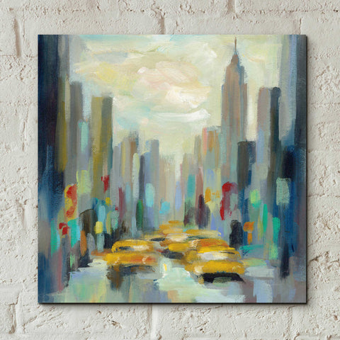 Image of Epic Art 'Manhattan Sketches II' by Silvia Vassileva, Acrylic Glass Wall Art,12x12
