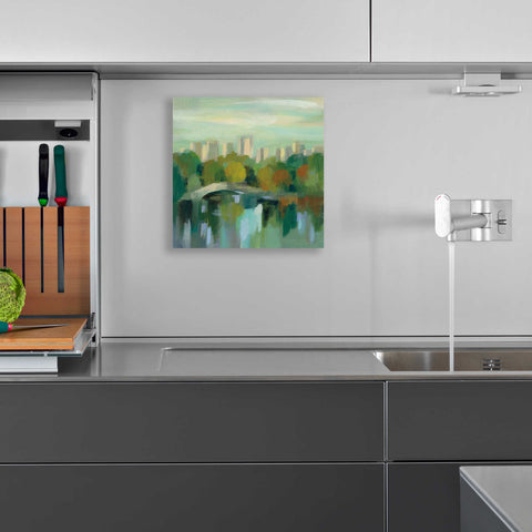 Image of Epic Art 'Manhattan Sketches III' by Silvia Vassileva, Acrylic Glass Wall Art,12x12