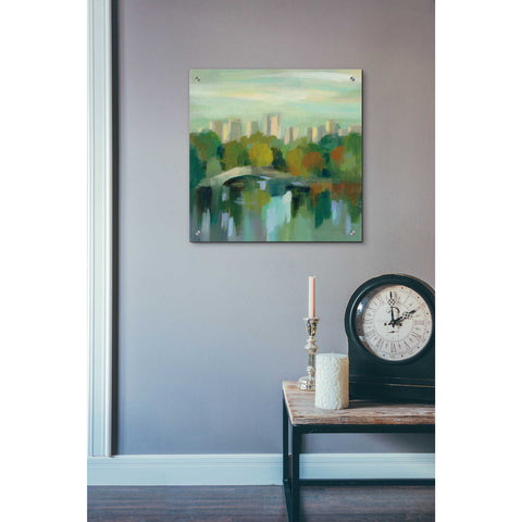 Epic Art 'Manhattan Sketches III' by Silvia Vassileva, Acrylic Glass Wall Art,24x24