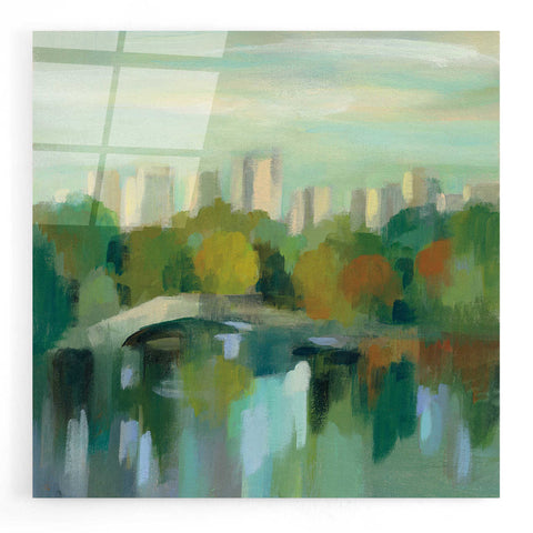 Image of Epic Art 'Manhattan Sketches III' by Silvia Vassileva, Acrylic Glass Wall Art