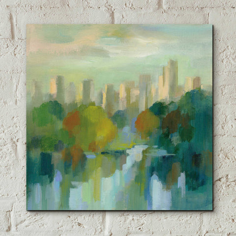 Image of Epic Art 'Manhattan Sketches IV' by Silvia Vassileva, Acrylic Glass Wall Art,12x12