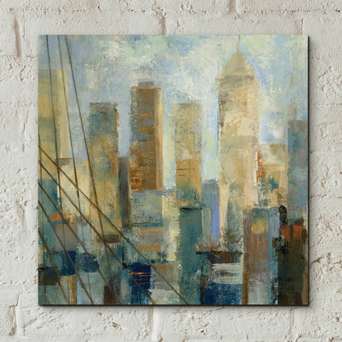 Image of Epic Art 'Manhattan Sketches V' by Silvia Vassileva, Acrylic Glass Wall Art,12x12