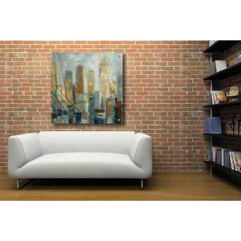 Epic Art 'Manhattan Sketches V' by Silvia Vassileva, Acrylic Glass Wall Art,36x36