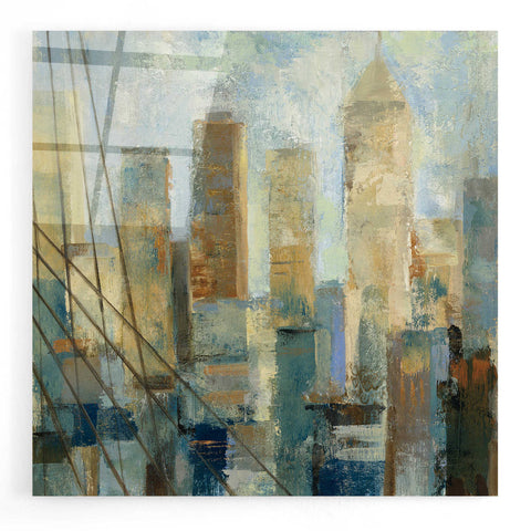 Image of Epic Art 'Manhattan Sketches V' by Silvia Vassileva, Acrylic Glass Wall Art
