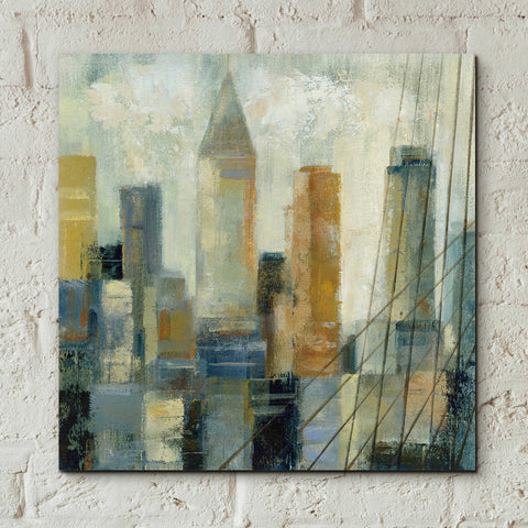 Epic Art 'Manhattan Sketches VI' by Silvia Vassileva, Acrylic Glass Wall Art,12x12
