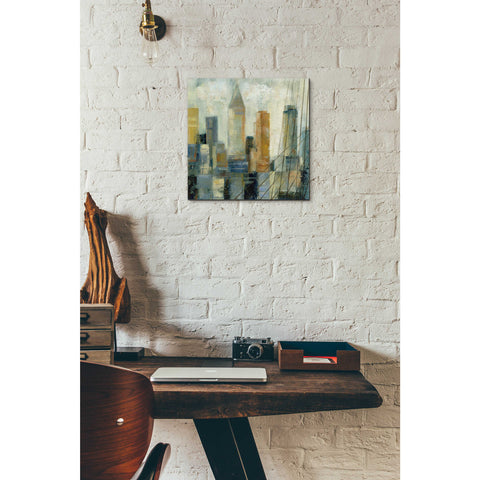 Image of Epic Art 'Manhattan Sketches VI' by Silvia Vassileva, Acrylic Glass Wall Art,12x12