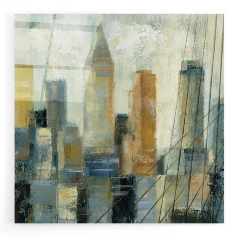 Image of Epic Art 'Manhattan Sketches VI' by Silvia Vassileva, Acrylic Glass Wall Art