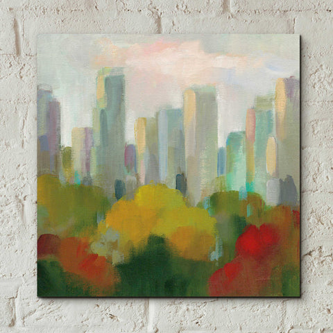 Image of Epic Art 'NYC Central Park I' by Silvia Vassileva, Acrylic Glass Wall Art,12x12