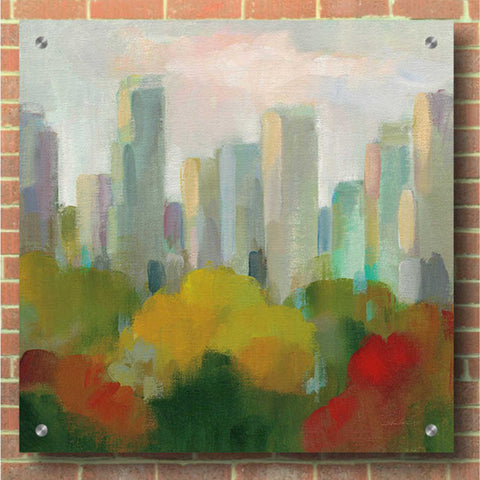 Epic Art 'NYC Central Park I' by Silvia Vassileva, Acrylic Glass Wall Art,36x36
