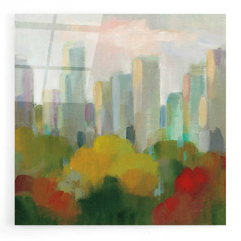 Epic Art 'NYC Central Park I' by Silvia Vassileva, Acrylic Glass Wall Art