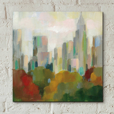 Image of Epic Art 'NYC Central Park II' by Silvia Vassileva, Acrylic Glass Wall Art,12x12