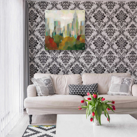 Image of Epic Art 'NYC Central Park II' by Silvia Vassileva, Acrylic Glass Wall Art,24x24