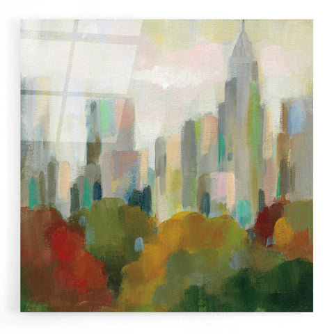 Epic Art 'NYC Central Park II' by Silvia Vassileva, Acrylic Glass Wall Art