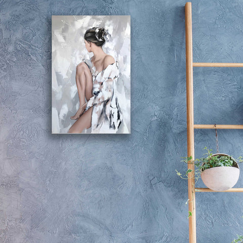 Epic Art 'Nadia' by Alexander Gunin, Acrylic Glass Wall Art,16x24