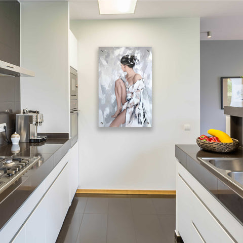 Epic Art 'Nadia' by Alexander Gunin, Acrylic Glass Wall Art,24x36