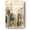 Epic Art 'Manhattan Gray and Gold I' by Silvia Vassileva, Acrylic Glass Wall Art