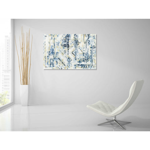 Image of Epic Art 'Scattered Indigo' by Silvia Vassileva, Acrylic Glass Wall Art,36x24