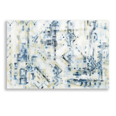 Image of Epic Art 'Scattered Indigo' by Silvia Vassileva, Acrylic Glass Wall Art