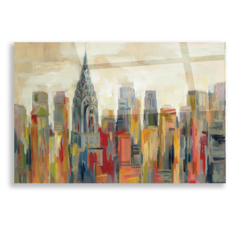 Image of Epic Art 'Manhattan' by Silvia Vassileva, Acrylic Glass Wall Art