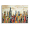 Epic Art 'Manhattan' by Silvia Vassileva, Acrylic Glass Wall Art