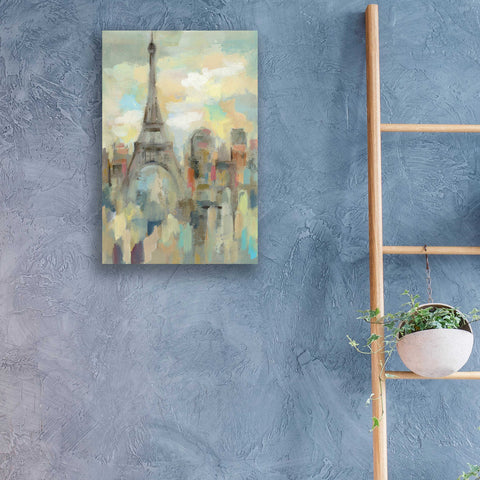 Epic Art 'Paris Impression' by Silvia Vassileva, Acrylic Glass Wall Art,16x24