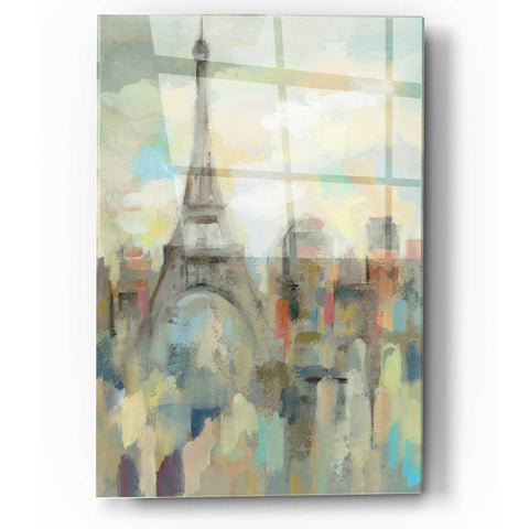 Image of Epic Art 'Paris Impression' by Silvia Vassileva, Acrylic Glass Wall Art