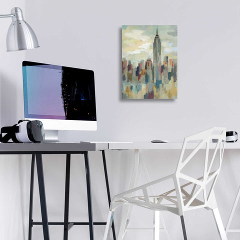 Epic Art 'New York Impression' by Silvia Vassileva, Acrylic Glass Wall Art,12x16
