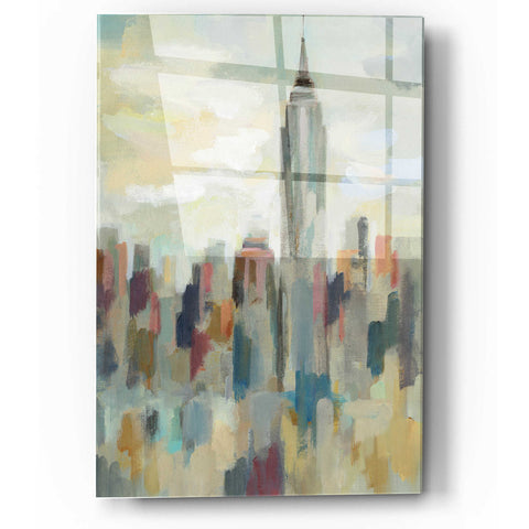 Image of Epic Art 'New York Impression' by Silvia Vassileva, Acrylic Glass Wall Art