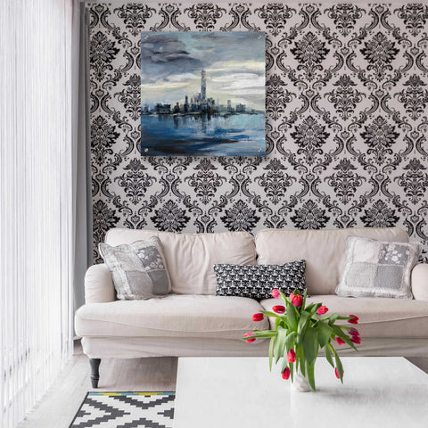 Epic Art 'Manhattan Winter' by Silvia Vassileva, Acrylic Glass Wall Art,24x24