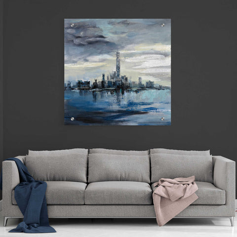 Epic Art 'Manhattan Winter' by Silvia Vassileva, Acrylic Glass Wall Art,36x36