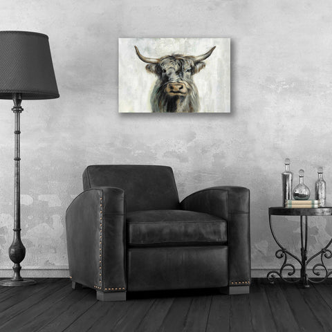 Epic Art 'Highland Cow Horizontal' by Silvia Vassileva, Acrylic Glass Wall Art,24x16