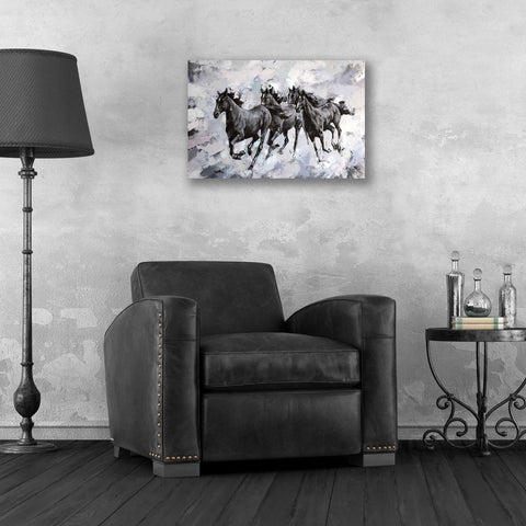 Image of Epic Art 'Gallop' by Alexander Gunin, Acrylic Glass Wall Art,24x16