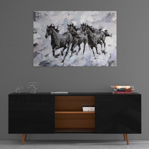 Image of Epic Art 'Gallop' by Alexander Gunin, Acrylic Glass Wall Art,36x24
