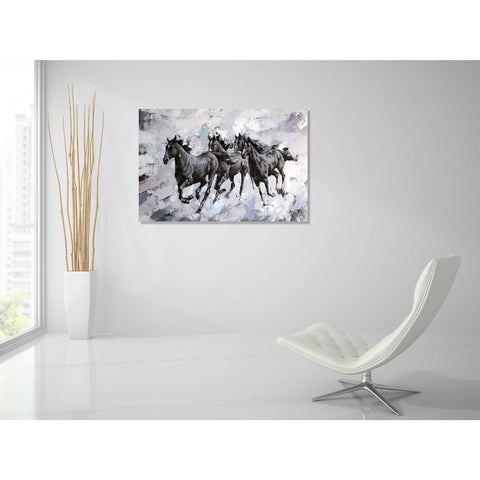 Epic Art 'Gallop' by Alexander Gunin, Acrylic Glass Wall Art,36x24