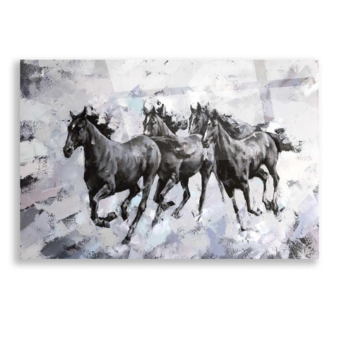 Image of Epic Art 'Gallop' by Alexander Gunin, Acrylic Glass Wall Art
