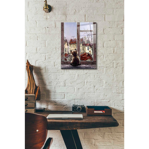 Image of Epic Art 'Old Yard' by Alexander Gunin, Acrylic Glass Wall Art,12x16