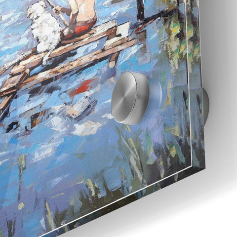 Epic Art 'Fishermen' by Alexander Gunin, Acrylic Glass Wall Art,36x36