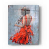 Epic Art 'Violinist in Red' by Alexander Gunin, Acrylic Glass Wall Art