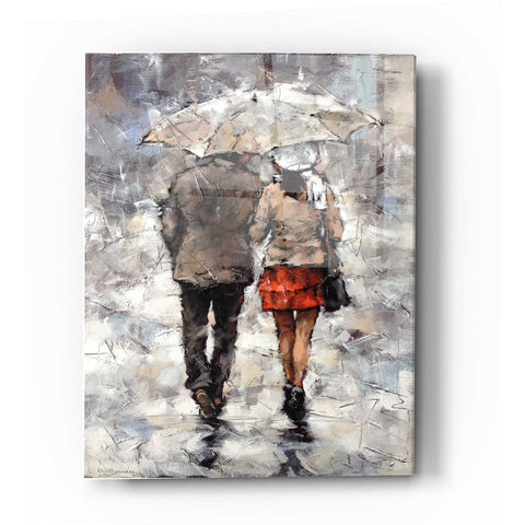 Image of Epic Art 'Under The Umbrella' by Alexander Gunin, Acrylic Glass Wall Art