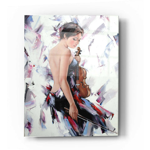 Epic Art 'Violinist' by Alexander Gunin, Acrylic Glass Wall Art