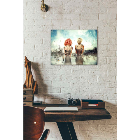 "Image of ""Conversation"" by Mario Sanchez Nevado, Giclee Canvas Wall Art"