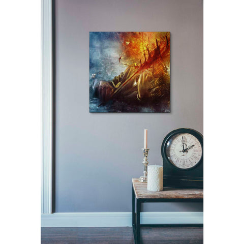 """A Look Into The Abyss"" by Mario Sanchez Nevado, Giclee Canvas Wall Art"