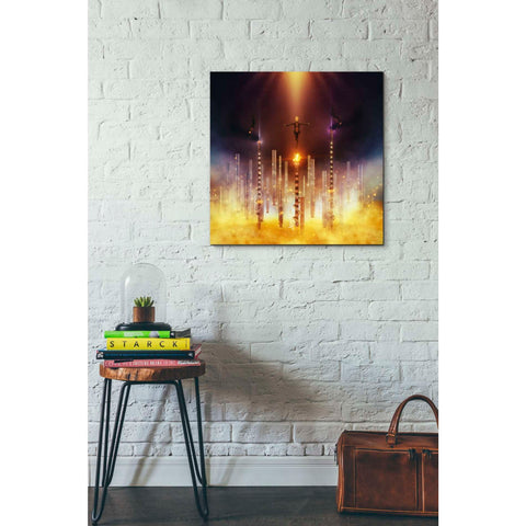 "Image of ""Prometheus"" by Mario Sanchez Nevado, Giclee Canvas Wall Art"