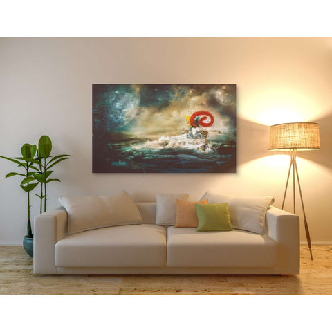 "Image of ""El Transito De Las Ballenas"" by Mario Sanchez Nevado, Giclee Canvas Wall Art"